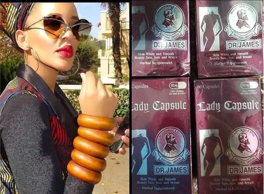 Dr James Lady Capsule Supplements  for Beautiful light  Skin,Hair growth,Glowing  Skin image 2
