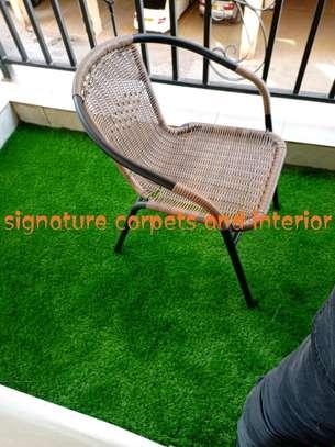 Green Artificial grass carpets image 1