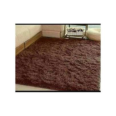 Sleek Fluffy Carpet image 4