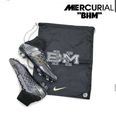 Black History Month Limited Edition NIKE Mercurial Superfly 4 Football Cleats image 1