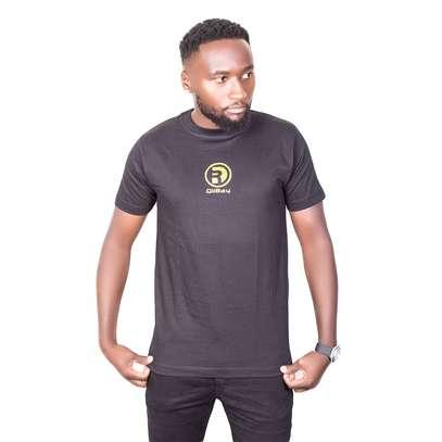 Black Cotton T-Shirt image 1