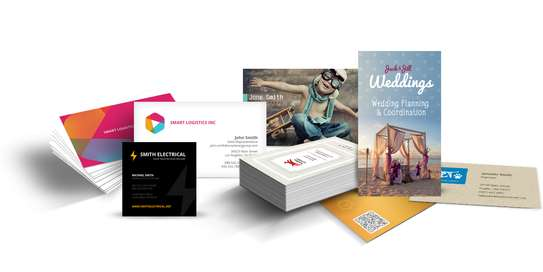 Logos and business cards design