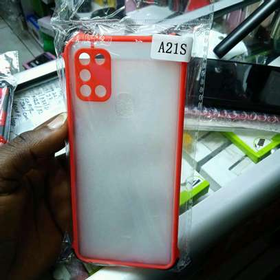 Samsung A21S Back Covers(My Choice) original hard covers image 2