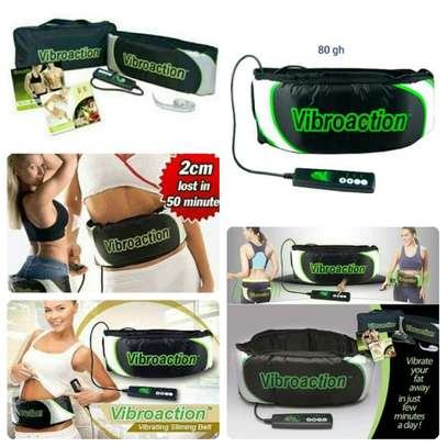 Vibroaction SLIMMING MAGER ELECTRIC WAIST BODY MUSCLE MAGE, WEIGHT LOSS MAGE BELT image 1