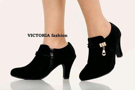 Fashion chunky heels image 2
