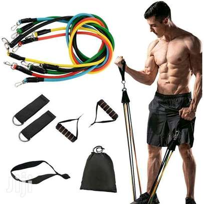 11 in 1 resistance bands image 1