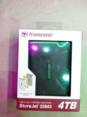 TRANSCEND 4TB EXTERNAL HARDISK image 1