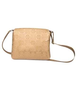 Ladies sling bag(Gold) image 2