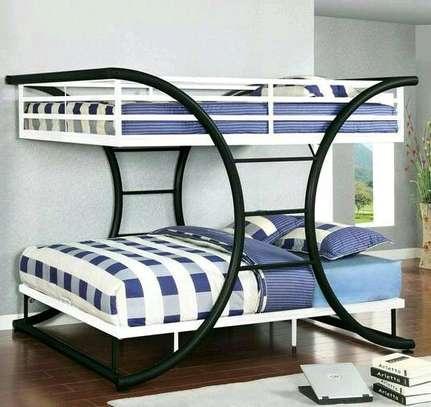Metallic Double beds for sale. image 5