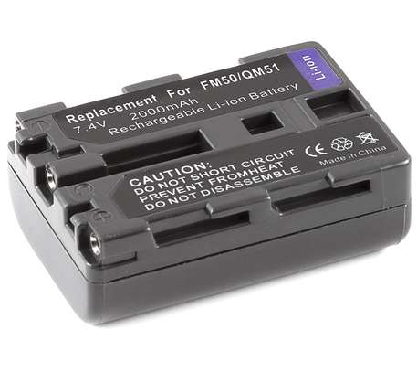 Sony Genuine - Battery Pack - NP-FM50 image 5