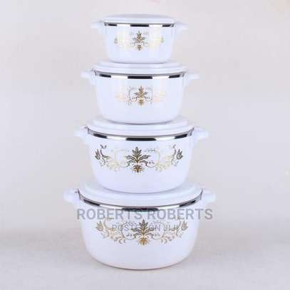 4pcs Set of Casserole Hotpots Available image 1