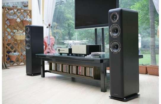 Wharfedale D330 Floorstanding Speakers, Pair image 1