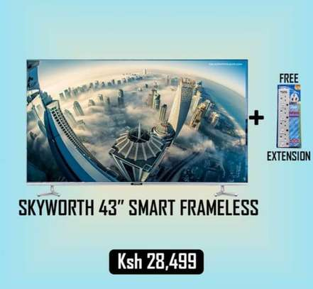 43 inch Skyworth Smart  HD LED  android image 1