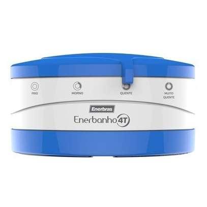 Enerbras Enershower 4 Temperature Instant Shower Water Heater (Blue) image 1