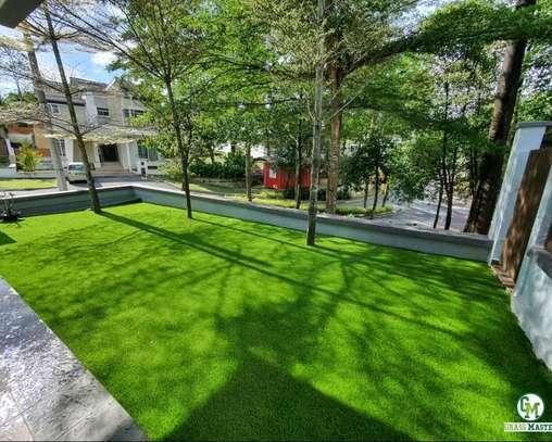 Artificial grass green carpet, turf grass carpet image 1