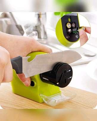 Motorized Knife Blade Sharpener, reg, Green image 1