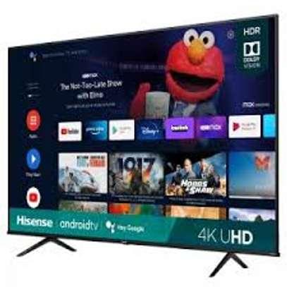 Hisense TV 50 Inch 4K UHD Andorid TV image 1