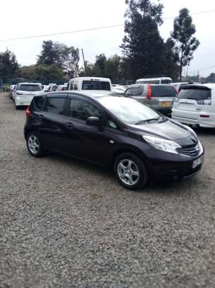 Nissan note 2013 Purple image 8