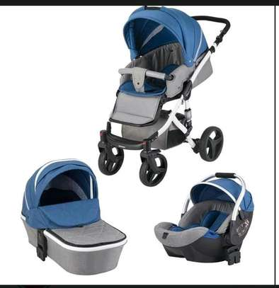 3 in 1 TRAVEL SYSTEM - Classy Stroller, Bassinet & Carry Cot image 1