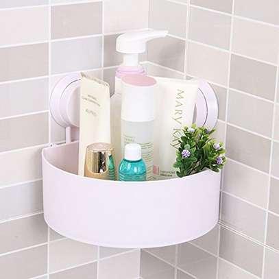 Triangle Suction Bathroom Shelves image 1