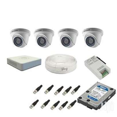 4 CCTV CAMERA FULL PACKAGE 1.3 MP(720p) With Night Vision image 2