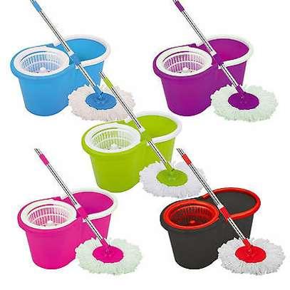 360 Rotating - Spin Mop & Bucket Set image 2