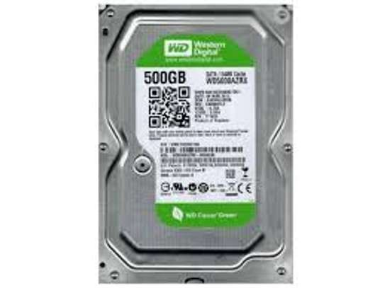 New Western Digital 500GB Desktop Hard Drive image 1