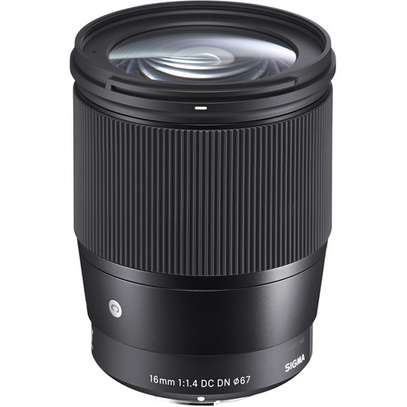 Sigma 16mm f/1.4 DC DN Contemporary Lens for Sony E image 1