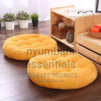 Round Floor Pouf Pillows image 4