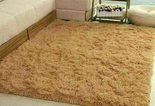 Fluffy carpet