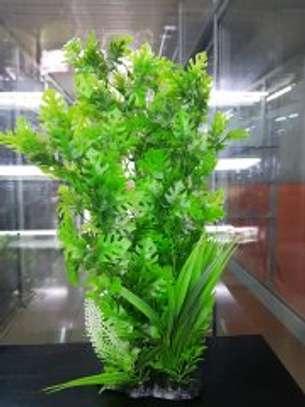 Large Aquarium Plastic Plants image 9