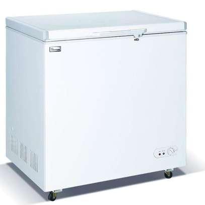 Ramtons CF/231 -140L Freezer + Icepak Ext Condenser - White image 2