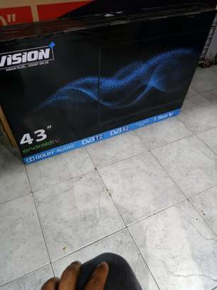 Vision plus 43 inch android tv image 1