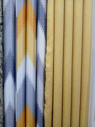 100% Polyester Textile Fabric Curtains And Sheers image 5