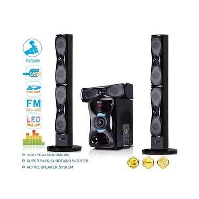 Sayona multimedia speaker 3.1 with 2 tall boys speakers image 1