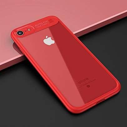AUTO FOCUS Transparent Shockproof Silicone Phone Case For iphone x xs max xr Coque Cover For iphone 6 7 8 6splus 7plus image 7