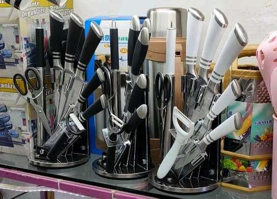 9pcs unique Germany knife set. image 2
