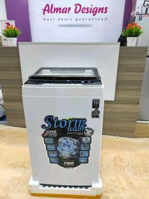 Washing Machine, Top Load, Fully-Automatic, 7Kgs, White image 1