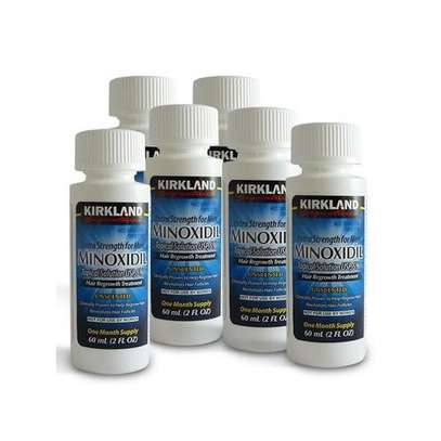 Minoxidil 5% Extra Strength Hair Regrowth Treatment (6-mnth supply) 6x60ml image 2