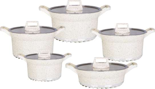 10pcs BOSCH Germany Brand Granite Cooking Pots image 6