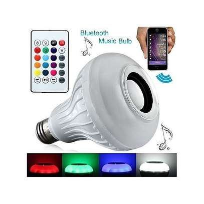 LED Music Bulb With Bluetooth,Music Player With FREE USB disk. image 2