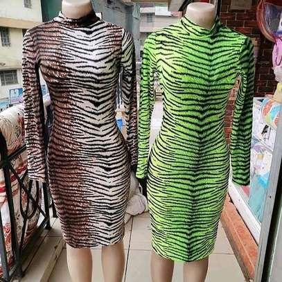 Tiger Print Dress image 2