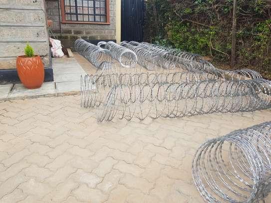 Razor wire installation in kenya image 1