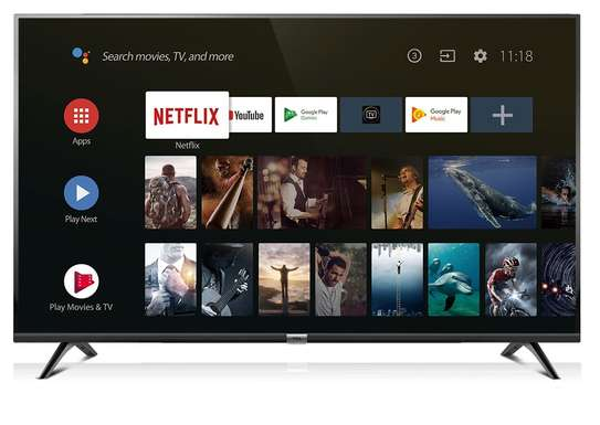 40 inch TCL Smart Android LED TV - Inbuilt Apps - 40S6501 image 1