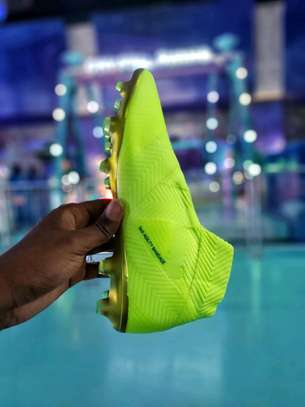 The Adidas Nemeziz 18+ Laceless Soccer Cleats image 6