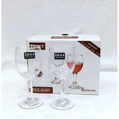 6pcs wine Glasses image 1