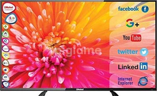 nobel 43 smart android frameless tv