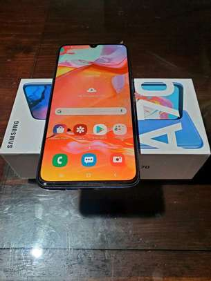 Samsung Galaxy A70 [ 128 Gigabytes ] With Charging Pad image 1