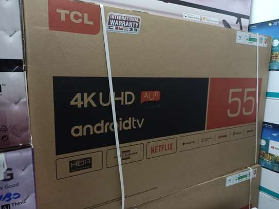tcl 55 smart android uhd tv