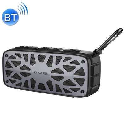 AWEI Y330 Portable Outdoor Wireless Bluetooth Speaker Real Wireless Stereo Card Inserting Dual Units Speaker Bass Subwoofer image 4